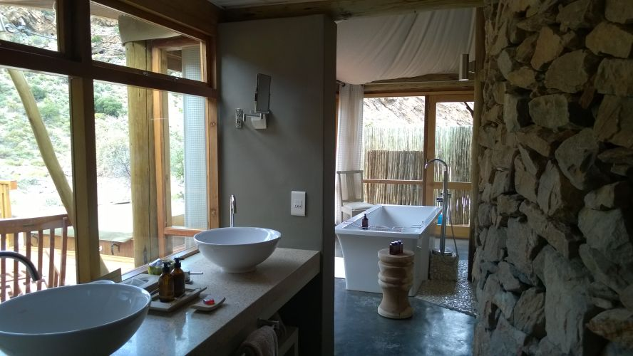 Western Cape safari accommodation at Sanbona Wildlife Reserve Dwyka Tented Lodge