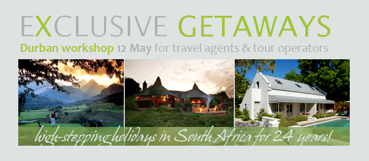 Exclusive Getaways workshops for travel professionals in Durban