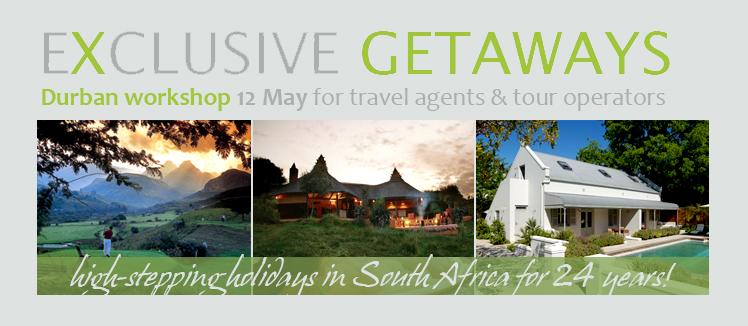 Exclusive Getaways workshops for travel professionals in Durban