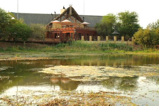 Tau game Lodge exhibiting with Exclusive Getaways at Indaba 2015