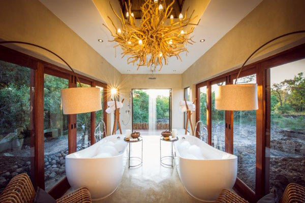 Modern and exclusive safari accommodation at Sabi Sabi Luxury Bush Villas