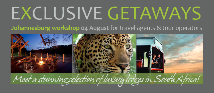 Exclusive Getaways Travel Workshop Johannesburg August 2015