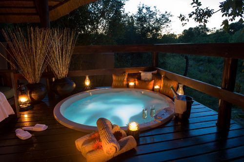 Luxury safari accommodation at Sabi Sabi Little Bush Lodge