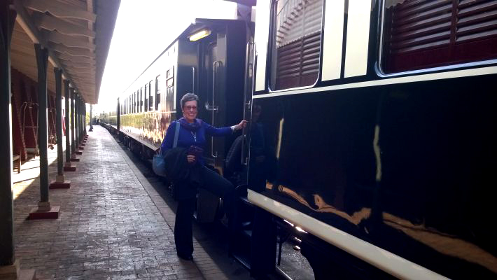 Luxury train travel in South Africa