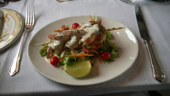 Food and wine experience on Rovos Rail