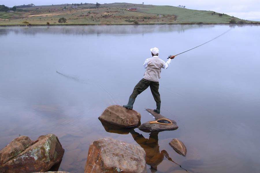 Luxury fishing holidays in South Africa
