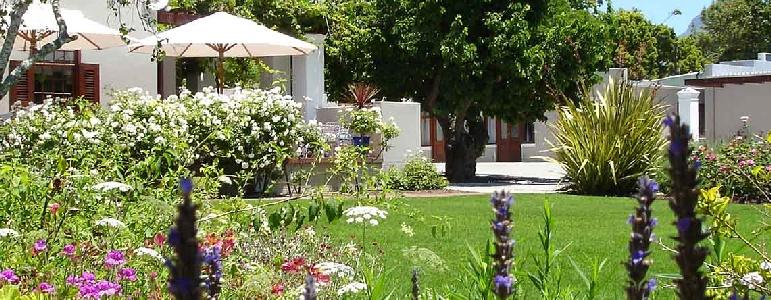 Great garden estate hotels in Cape Town