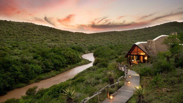 Bank on It! Stunning Riverside Lodges in South Africa