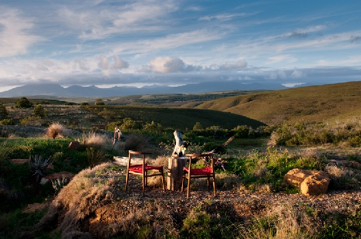 luxury safari accommodation Mossel Bay Garden Route