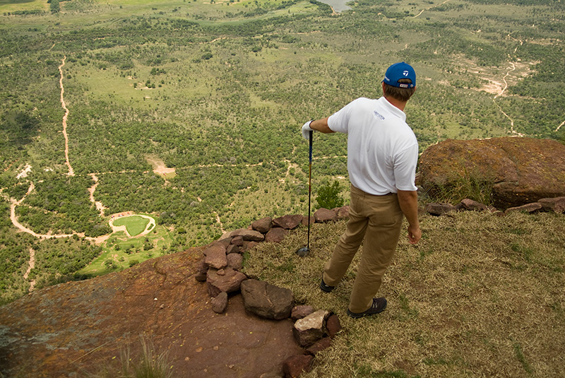 Extreme 19th hole at Legend Golf and Safari Resort South Africa