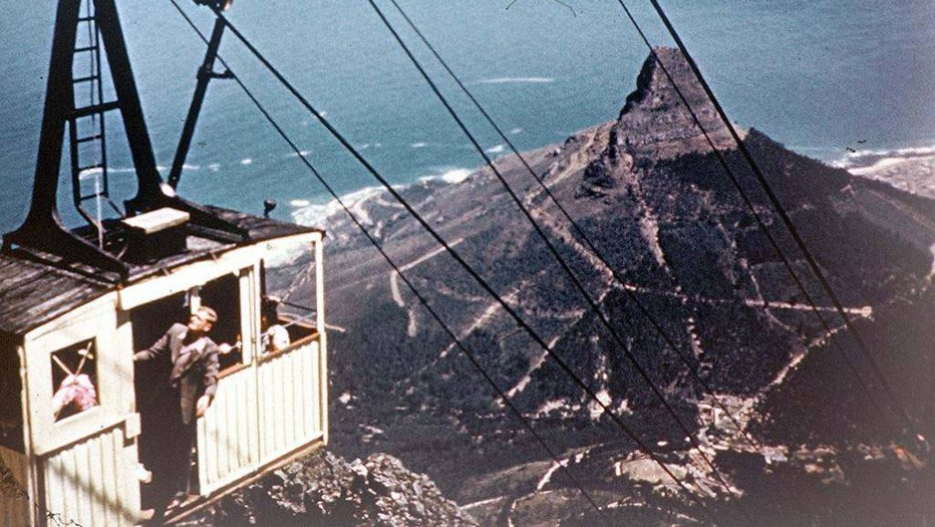 History of cable car Table Mountain Cape Town