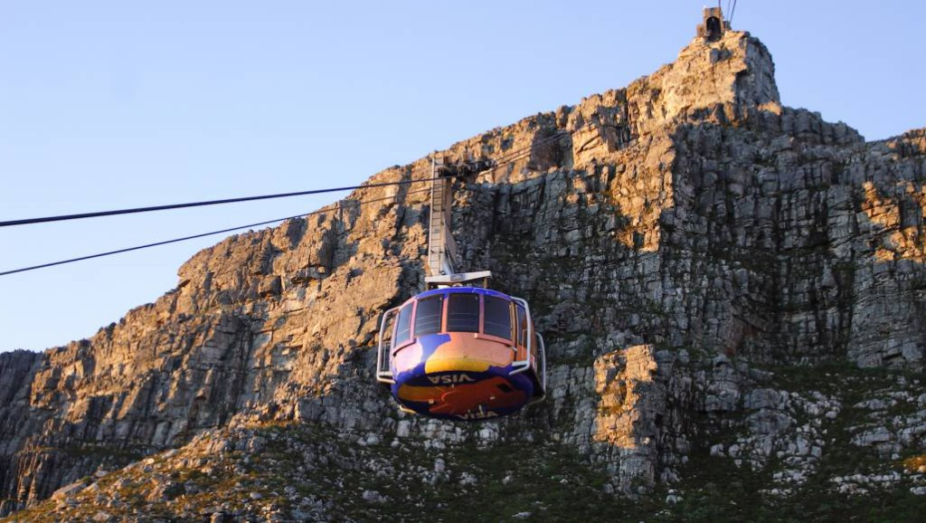 Table Mountain cable car history