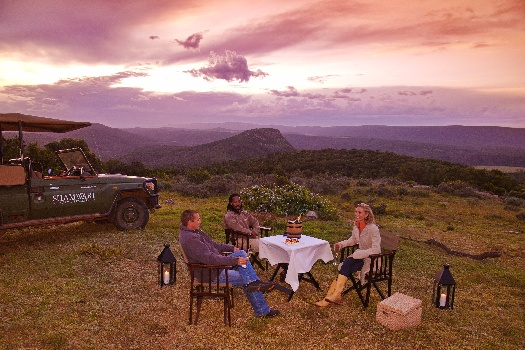 best places for sunsets in South Africa