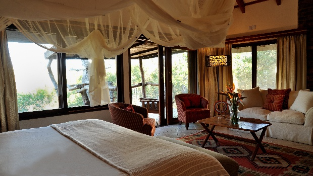 Non thatch luxury safari accommodation in South Africa