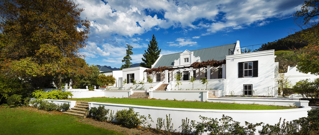A Private Escape to the Winelands: There's a Gorgeous Sole-Use Villa at Mont Rochelle