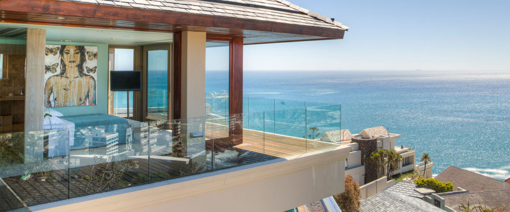 Ellerman House Villa One is a modern, sophisticated holiday space on three levels, perfect for multigenerational family holidays. Poised up above the great Altantic Ocean in Bantry Bay, the villa is available as an exclusive-use option, offering three en-suite bedrooms, two additional spa bedrooms, a large entertainment and dining area, private TV lounge, study and reading room, modern kitchen fully stocked. Villa guests also have access to public areas at the hotel