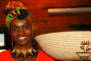traditional entertainment on safari in South Africa