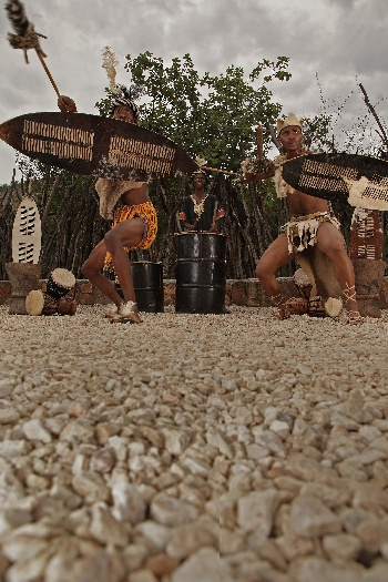 traditional entertainment on safari South Africa