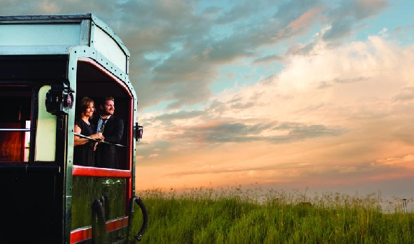 luxury rail travel South Africa