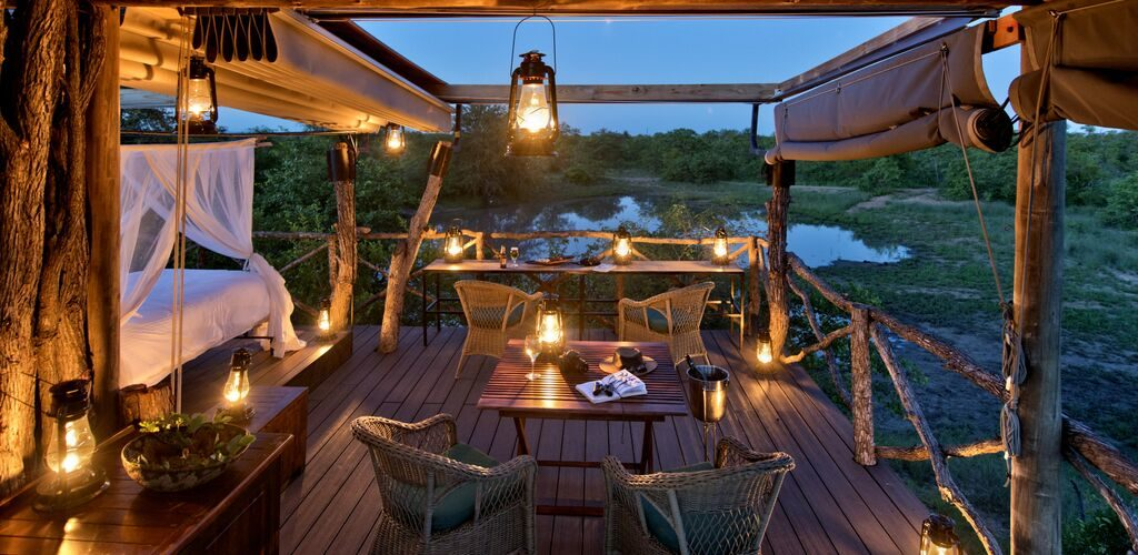 luxury wilderness safari sleepouts south africa