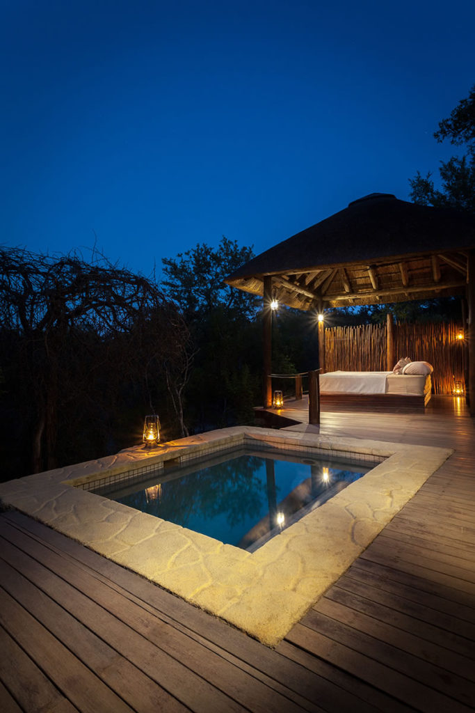 luxury sleepouts and outdoor accommodation South Africa