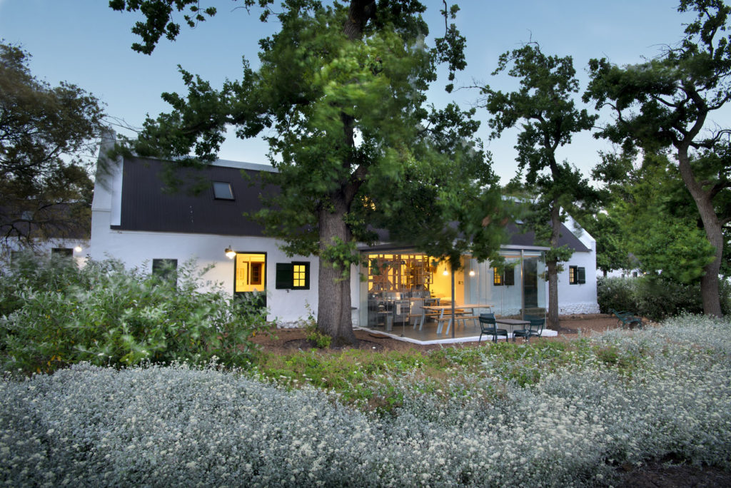 romantic high-end hotels and lodges in the Cape winelands