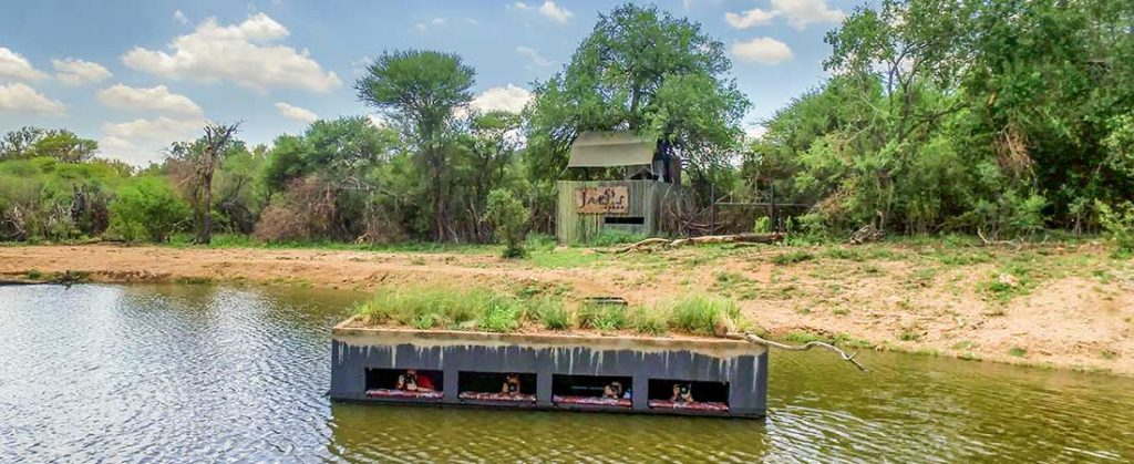 game viewing hides at luxury safari lodges south africa