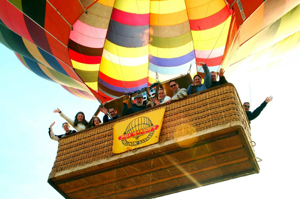 Thrilling 30-Minute Hot-Air Balloon Safari in Gauteng