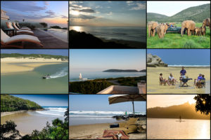 surf and turf beach and wilderness holiday South Africa garden Route Eastern Cape Wild Coast