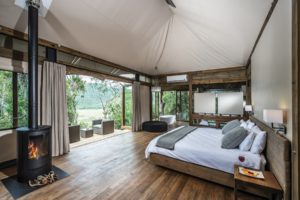 luxury tented safari accommodation South Africa