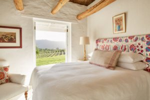 farm-style winelands holiday accommodation Franschhoek