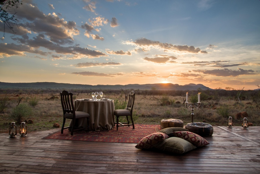 Dinner for Two in the Wilderness: Luxurious and Romantic Safari Lodges in South Africa