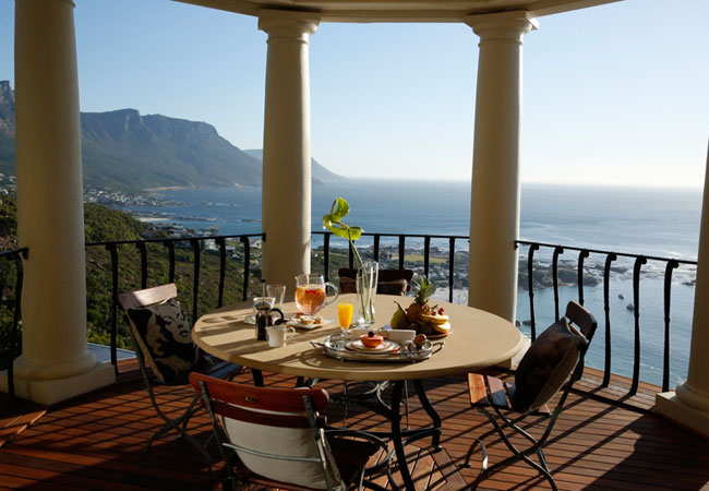 luxury hilltop and clifftop hotels in South Africa