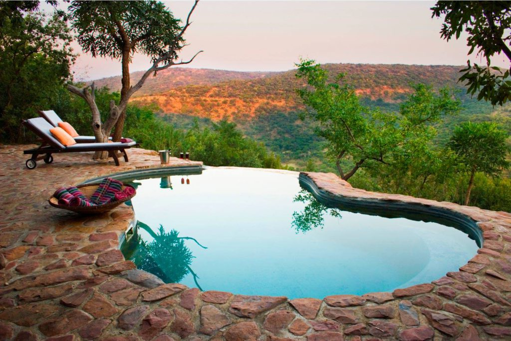 luxury hilltop and clifftop hotels and lodges in South Africa