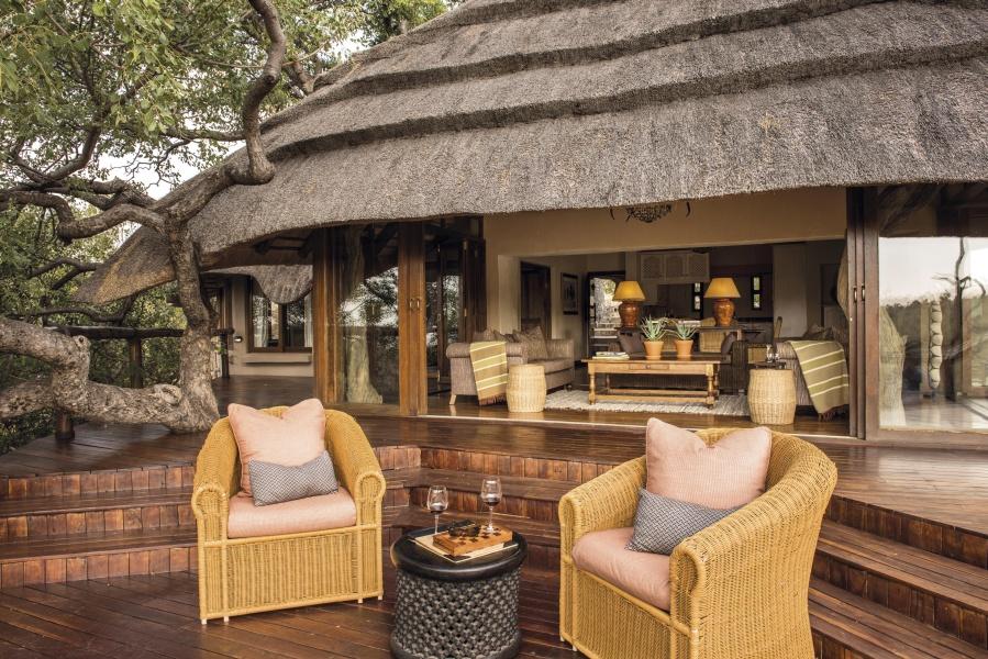 luxury family safari villas South Africa