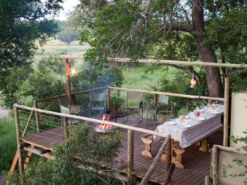 wilderness sleepout kruger national park south africa