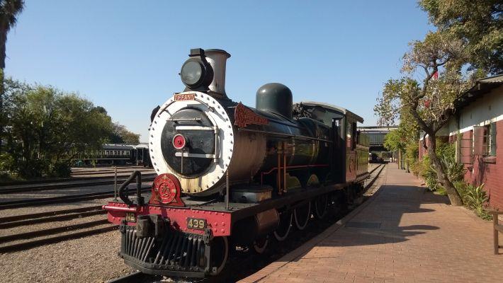 luxury rail trip Rovos Rail Cape Town to Pretoria