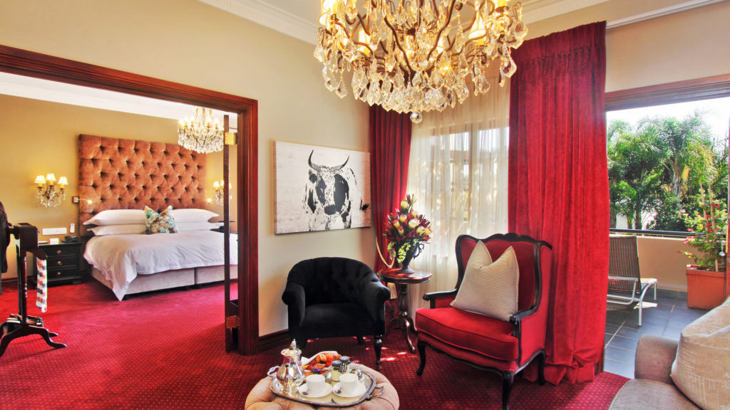 luxury hotels in johannesburg