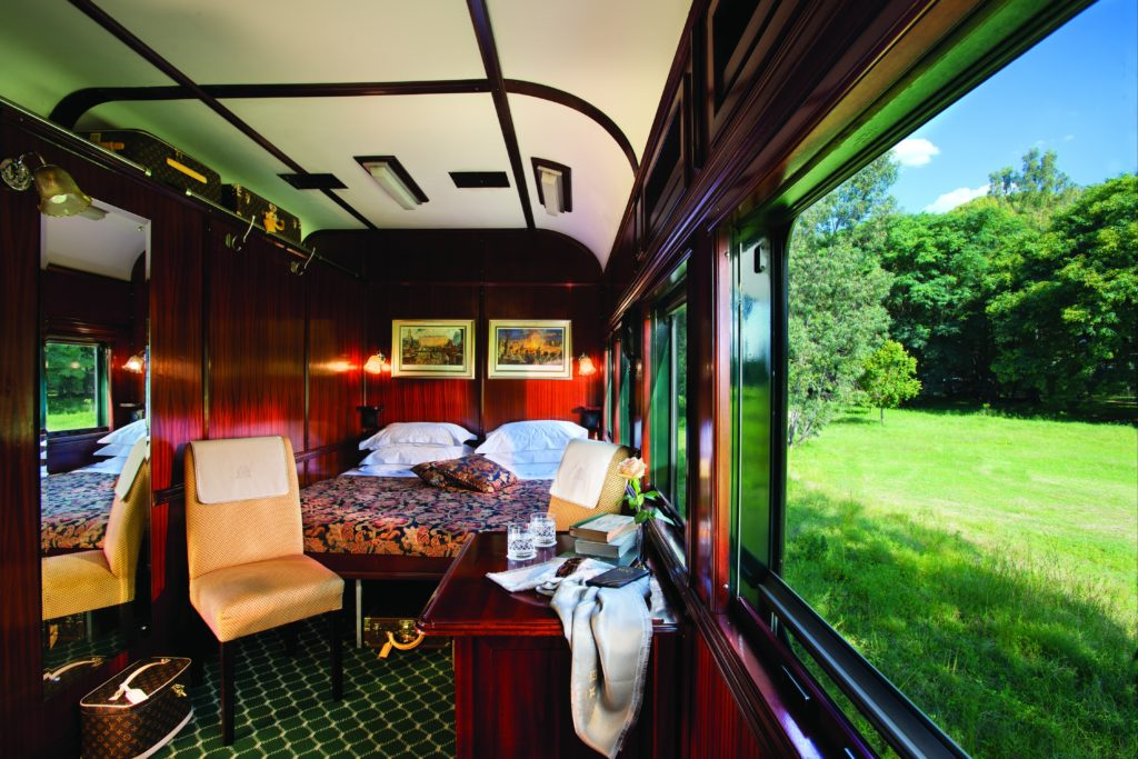 luxury golf and safari train trip rovos rail south africa