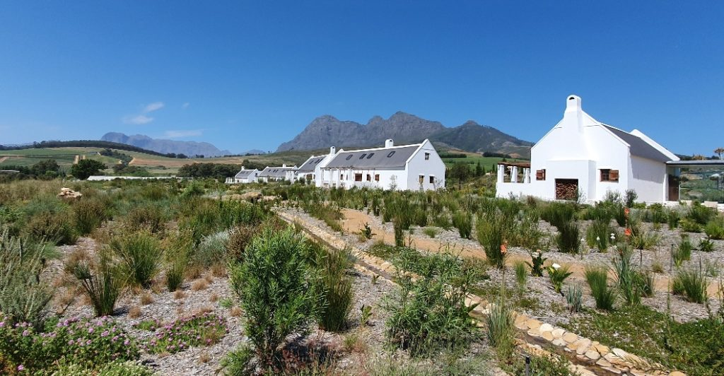 babylonstoren luxury wine farm hotel franschhoek area