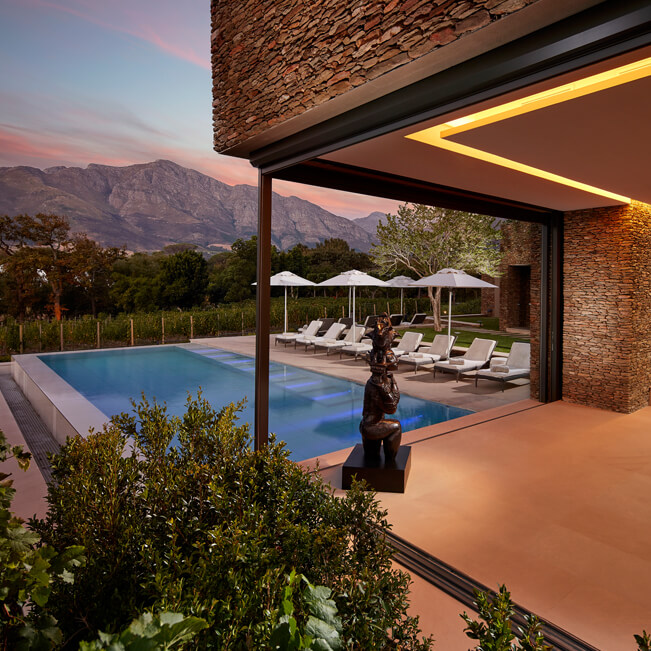 leeu estates franschhoek 5 star premium hotels south africa