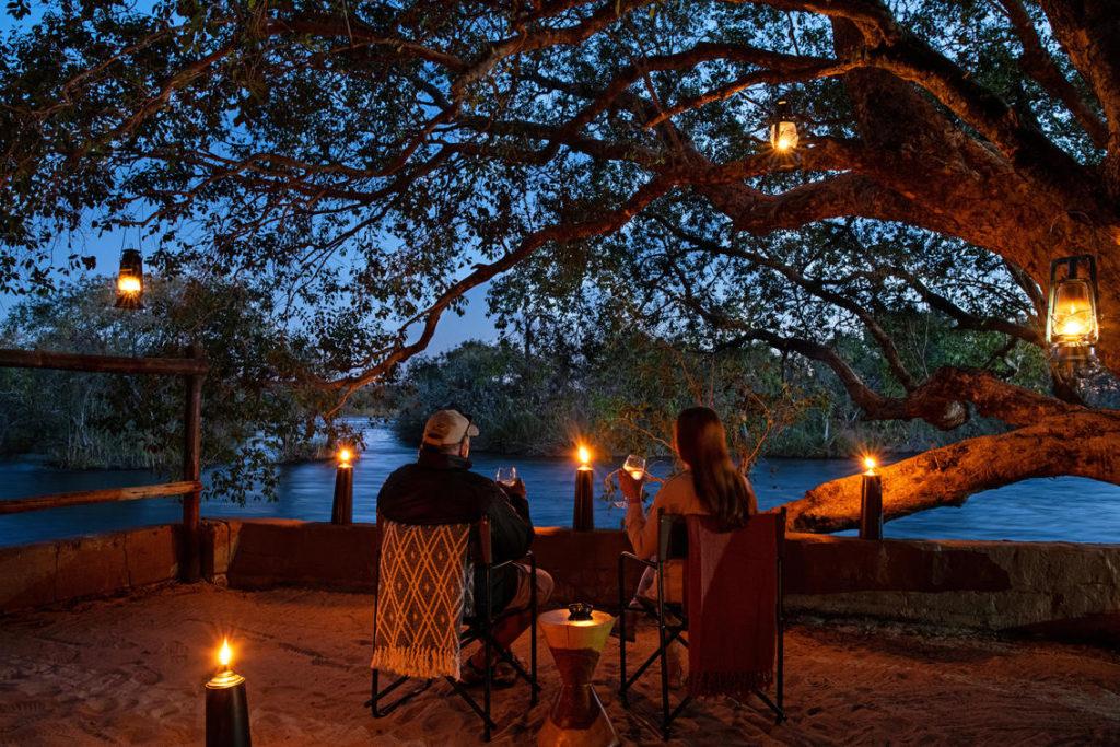 Ichingo Chobe River Lodge tented river safari chobe river namibia